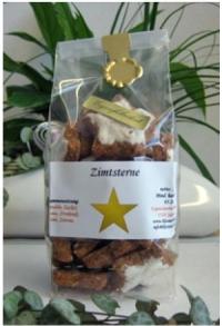 Zimt-Sterne (erhältlich vom 01. November bis 15. Januar)